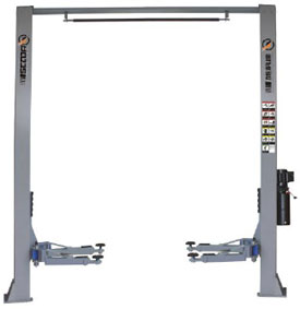 SB40 Two Post Lift , Base free – 4 ton capacity