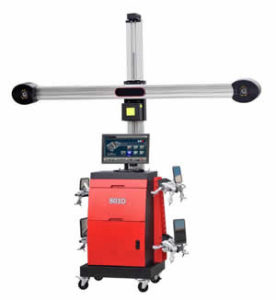 Wheel Alignment Automatic Height Tracking with HD Camera