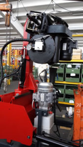mobile truck tyre changers and wheel balancers combo